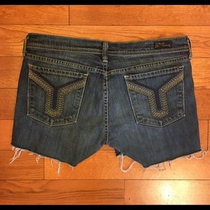 Citizens of Humanity Cut of Jean Short